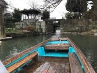 柳川の川くだり.JPG